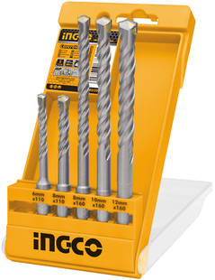 Ingco SDS Plus Hammer Drill Bit Set